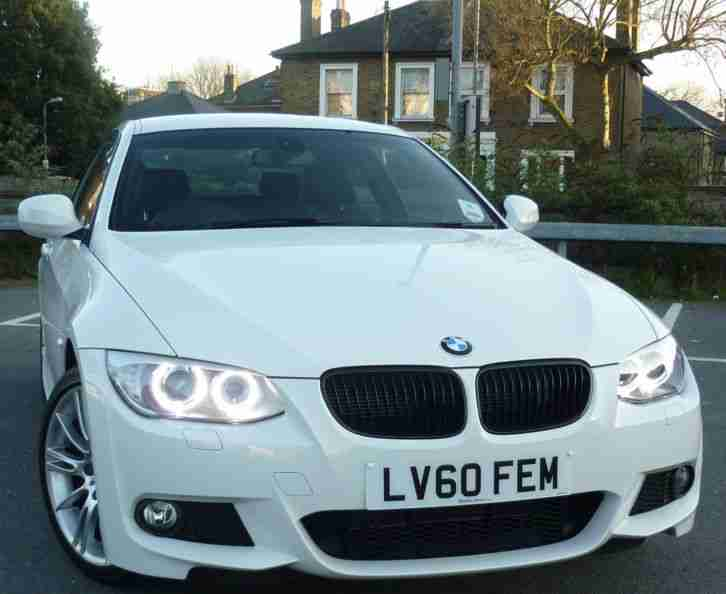 BMW 320i M Sport Coupe LCI '60 WHITE 2010 LOW MILES 40k ...