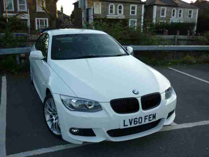 Bmw 320i M Sport Coupe Lci 60 White 2010 Low Miles 40k