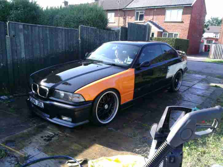 BMW 323i (2.5 litre) e36 coupe M3 replica unfinished project spares repair