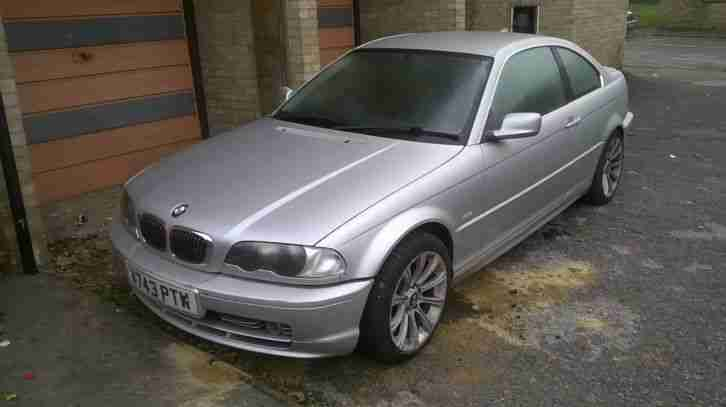 BMW 323i Reg V743 PTW for Repair or spares