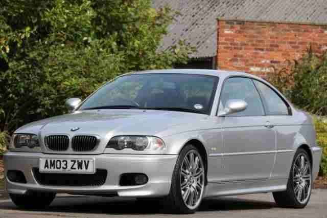 "BMW 325Ci COUPE M3 19"" ALLOY WHEELS,MIRRORS FULL HEATED LEATHER TRIM,106K F"