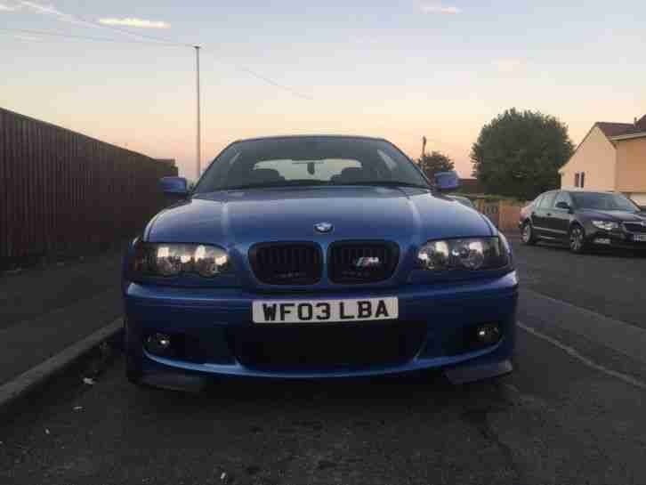 BMW 330CI CLUBSPORT BLUE