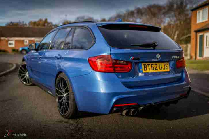 BMW 330D 335 M SPORT XDRIVE PERFORMANCE BEAUTIFUL EXAMPLE IN ESTORIL BLUE MAY PX