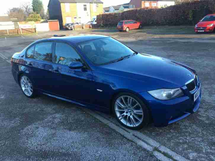 BMW 330D M. BMW car from United Kingdom