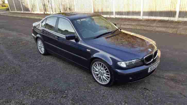 BMW 330d SE, Saloon, Manual, Diesel, e46 2003