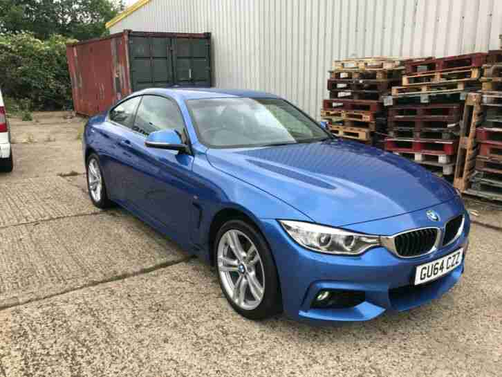BMW 420d xDrive M Sport 4 Series High Spec