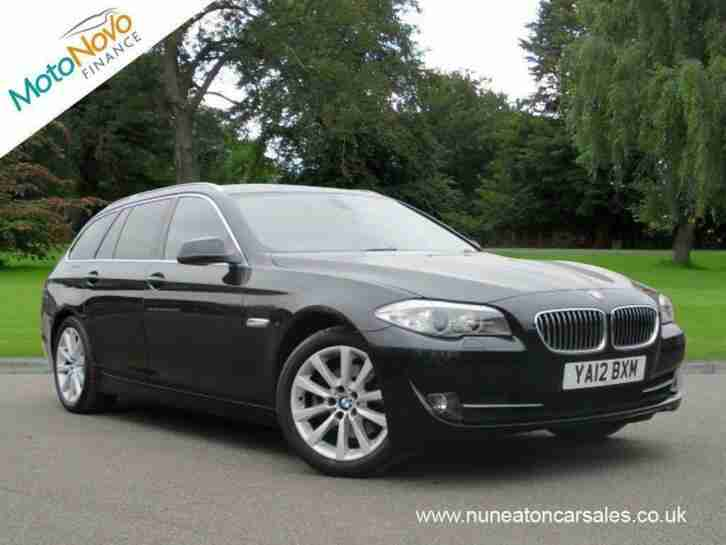 BMW 5 SERIES 520d Start Stop 520 SE Black Manual Diesel, 2012