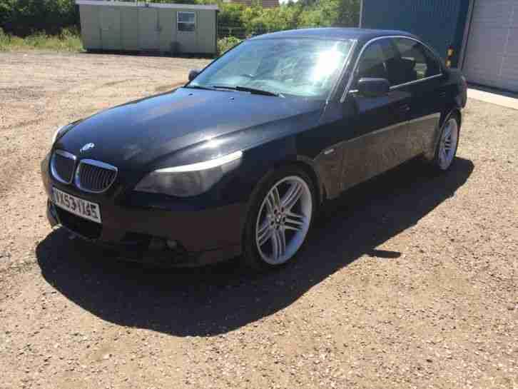 BMW 5 SERIES E60 530i AUTO BREAKING FOR PARTS WHEEL NUT