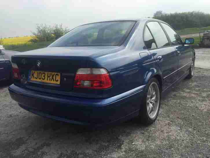 BMW 520 2.2 2003 i ES SE FULL SERVICE HISTORY - NEW MOT - BARGAIN TO CLEAR!