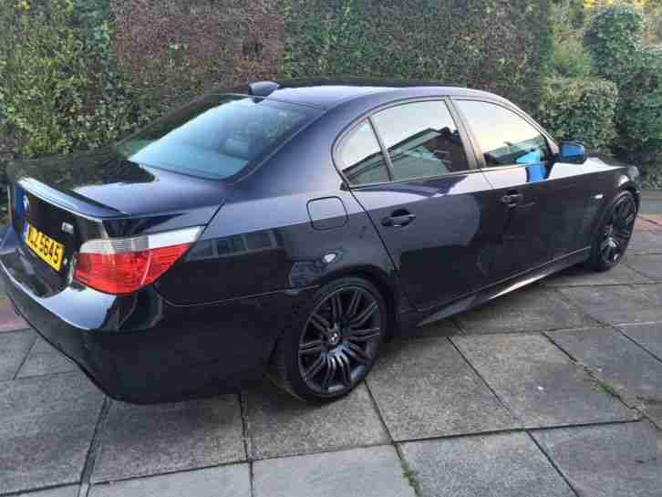 520d M Sport. 2007. High Spec incl Sat