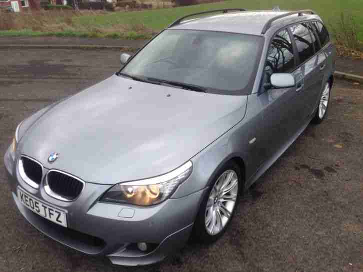 bmw 525d m sport touring estate 5 series e61 diesel not. Black Bedroom Furniture Sets. Home Design Ideas