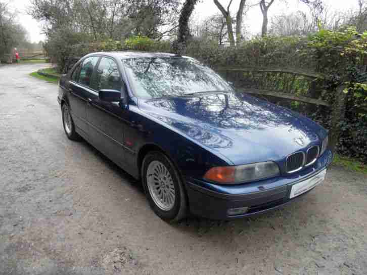 BMW 528i Petrol, Manual, New Mot, Just Serviced, Excellent Condition All Round