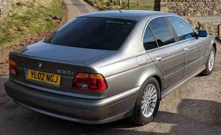BMW 530i Auto 2002 E39 factory tinted glass - refurbished - 11 months MOT