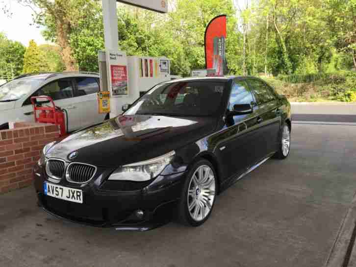 bmw 535d m sport lci facelift 286 bhp 2007 57 saloon e60 car for sale. Black Bedroom Furniture Sets. Home Design Ideas