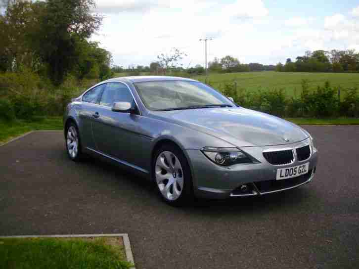 BMW 630 3.0 auto 2005MY Ci 82K, Full BMW Service History, 1 owner from new