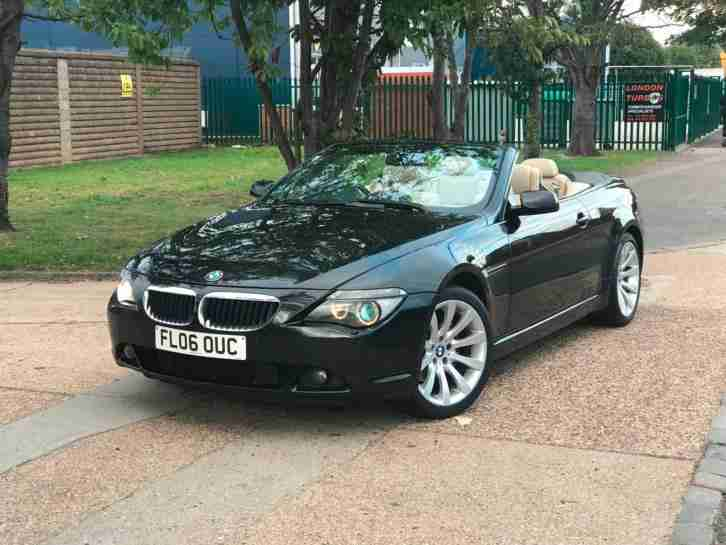 BMW 630i M SPORT AUTOMATIC CONVERTIBLE.FULLY LOADED TOP OF THE RANGE. BARGAIN