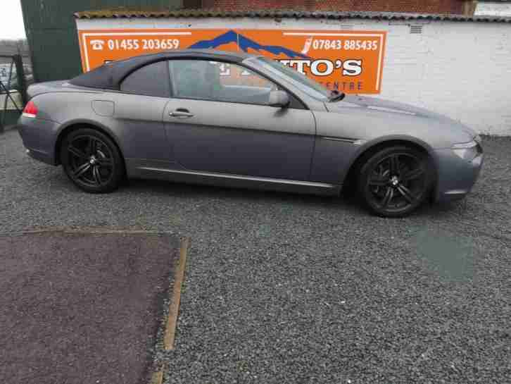 BMW 645 4.4 auto 2004MY Ci petrol grey