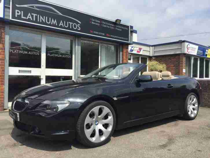 BMW 645Ci Convertable. BMW car from United Kingdom