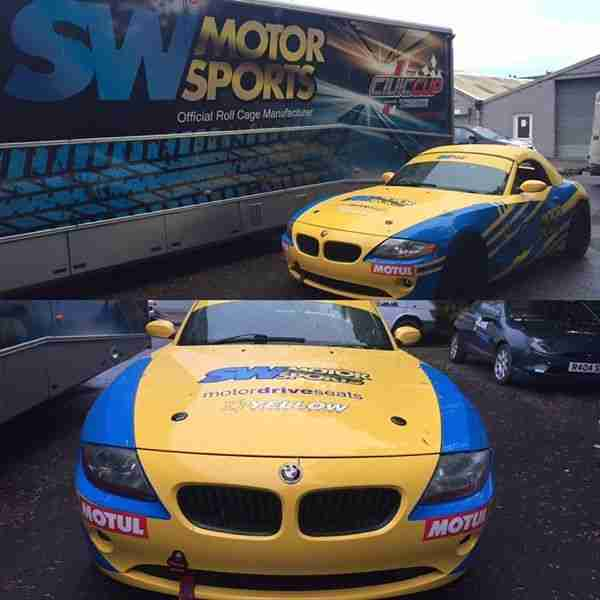 Bmw Z4 Update: BMW E85 Z4 3.0 Tin Top Race Track Endurance Car Not M4 Zm