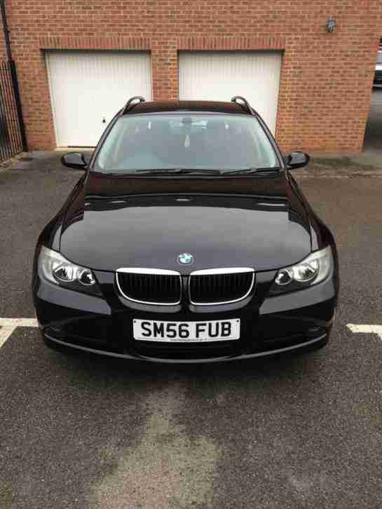 BMW E91 320i SE TOURING BLACK ESTATE N46B20B