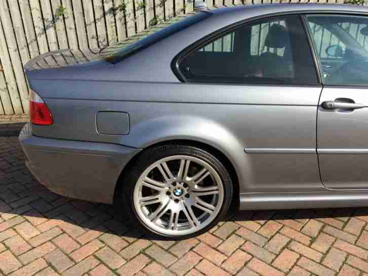 BMW M3 Coupe(e46) Silver Manual FBMWSH & under BMW Comprehensive warranty
