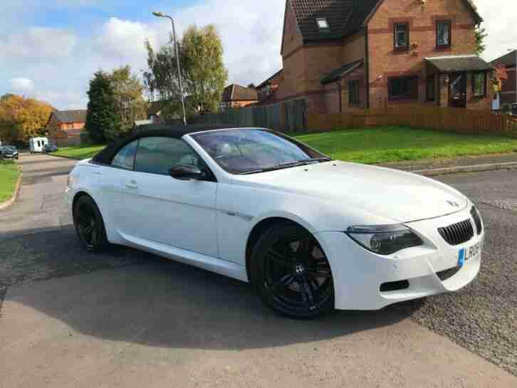 M6 CONVERTIBLE 2008 LCI ALPINE WHITE