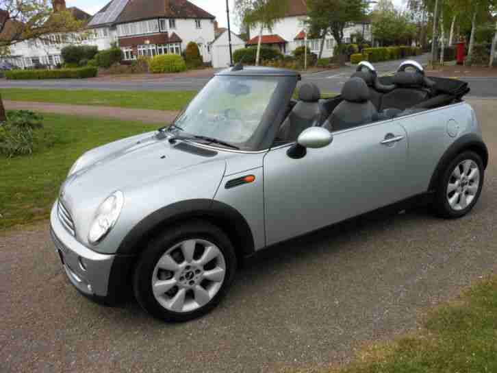 BMW MINI CABRIOLET AUTOMATIC WITH COLOUR SAT NAV ONLY 44,000 MILES