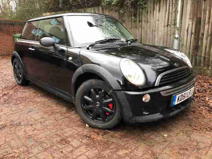 BMW ONE 1.6 COOPER S BLACK ALLOYS