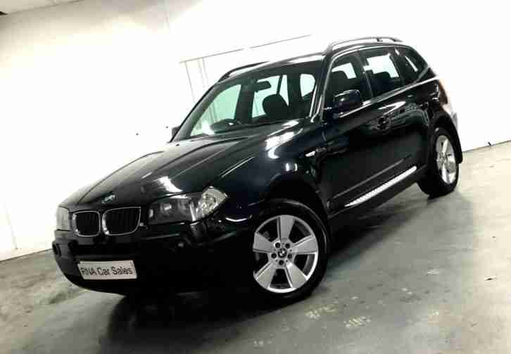 BMW X3 2.0d 2005MY Sport LOVELY CAR FULL SERVICE HISTORY £3495