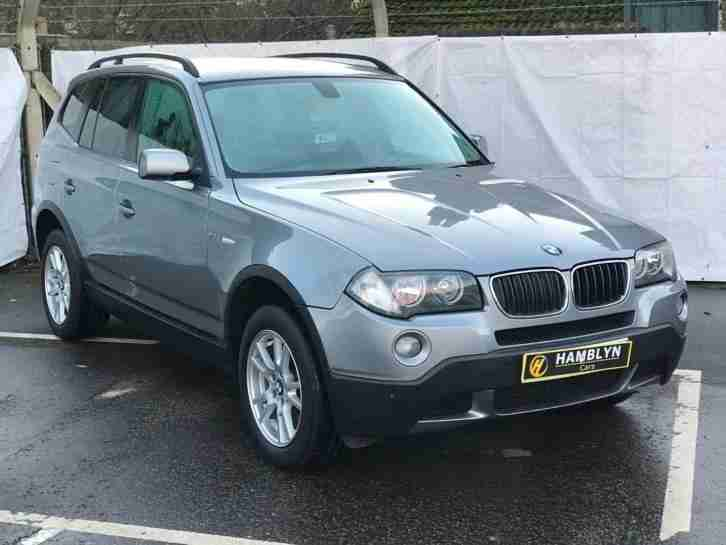 X3 2.0d 2007 SE, Heated Leather, 6 Speed,