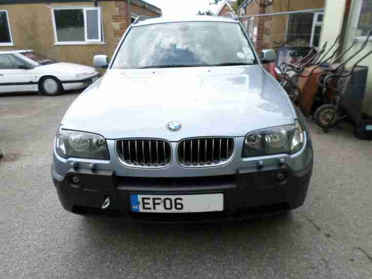 bmw x3 diesel se unrecorded salvage car for sale. Black Bedroom Furniture Sets. Home Design Ideas