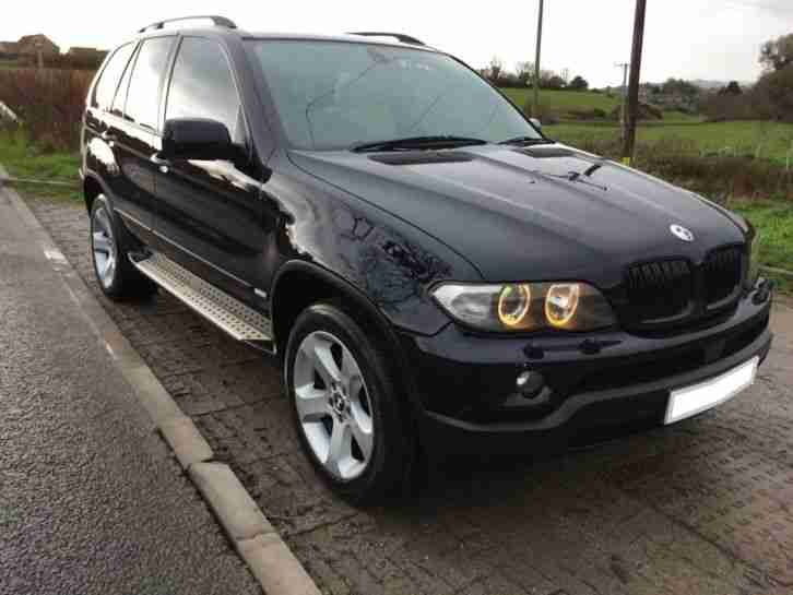 bmw x5 3 0 d sport exclusive 5dr auto black 2006 car for sale. Black Bedroom Furniture Sets. Home Design Ideas