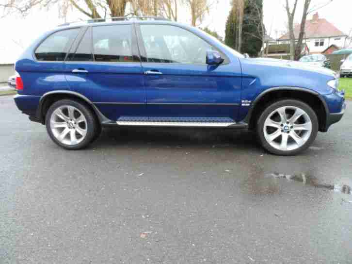 BMW X5 3.0D AUTOMATIC 56 PLATE LE MANS SPORT EDITION SAT NAV FULL LEATHER