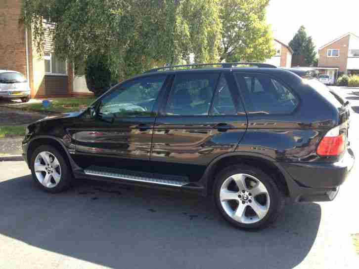 BMW X5 3.0D. BMW car from United Kingdom
