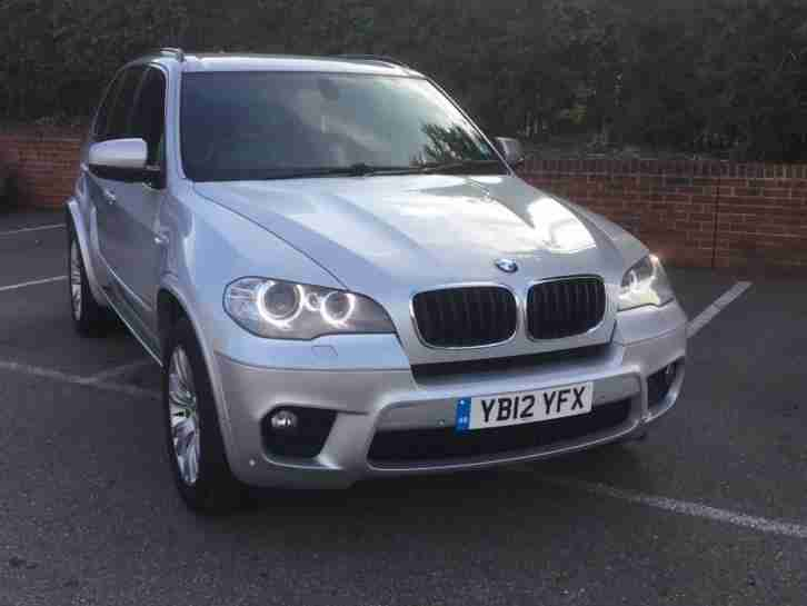 BMW X5 3.0TD. BMW car from United Kingdom