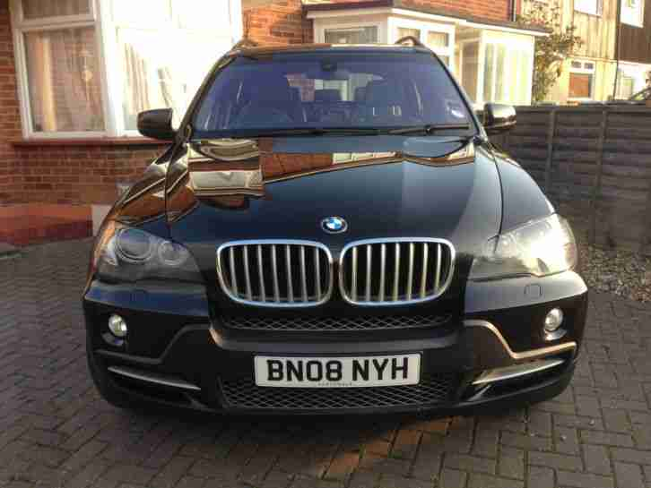 BMW X5 7 Seater Low Mileage Good Condition Used Family Car BLACK 3.0SD AUTO 2008