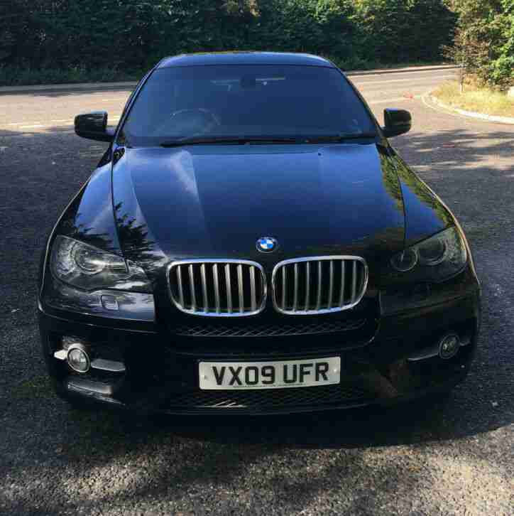 BMW X6 2009. BMW car from United Kingdom