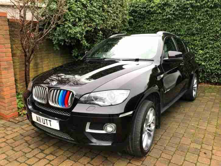 BMW X6 40d. BMW car from United Kingdom