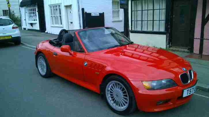 Bmw Z3 1 9 M Sport Reg 1999 12 Months Mot No Advisories