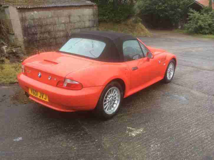 Bmw Z3 Convertible 1 9i Litre Low Mileage Only 44 900