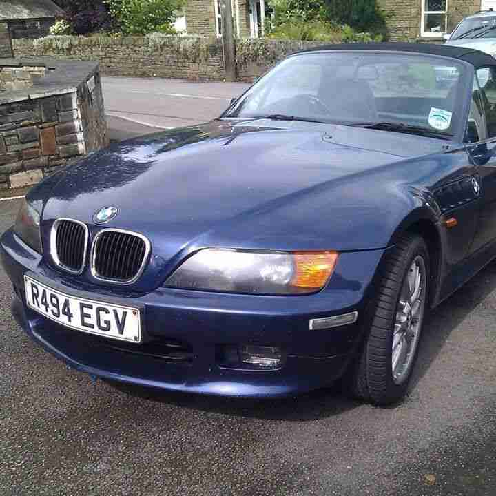 Bmw Z3 For Sale: BMW Z3 R494 EGV. Car For Sale
