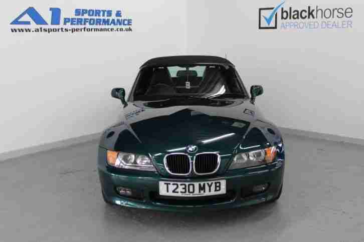 BMW Z3 Z3 ROADSTER 1999 Petrol Manual in Green