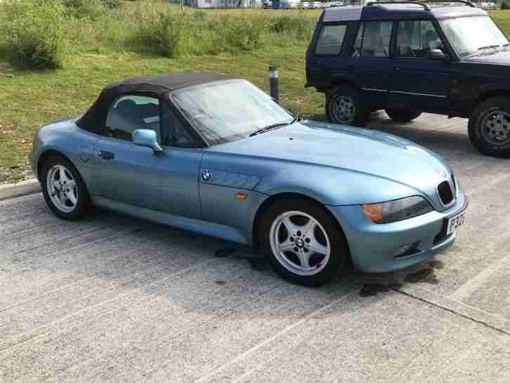 BMW Z3 roadster. BMW car from United Kingdom