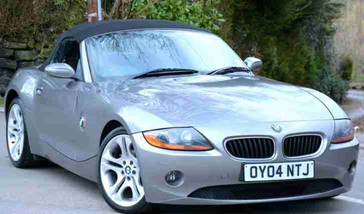 Bmw Z4 22i 2004my Se Roadster Lachs Grey Car For Sale