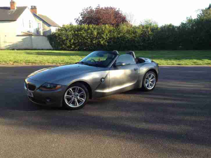 Bmw Z4 22i Se E85 Grey Silver Convertible Leather Air Con Sport