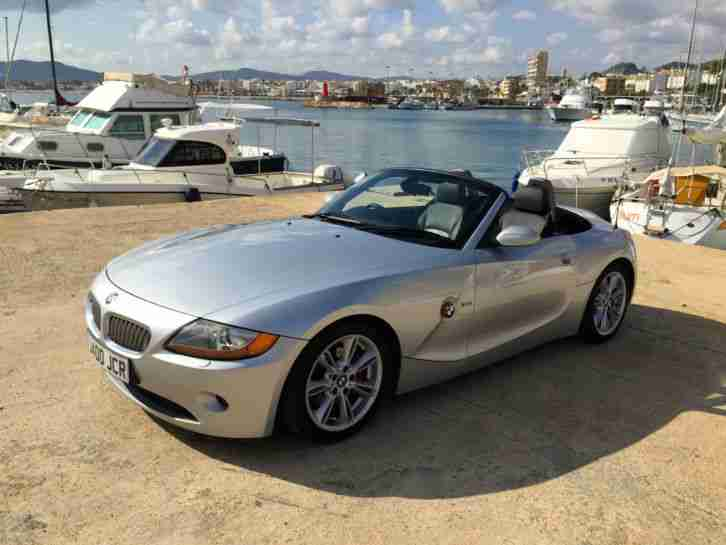 Bmw Z4 3 0 Se Cabrio Rhd Not Lhd In Spain Car For Sale