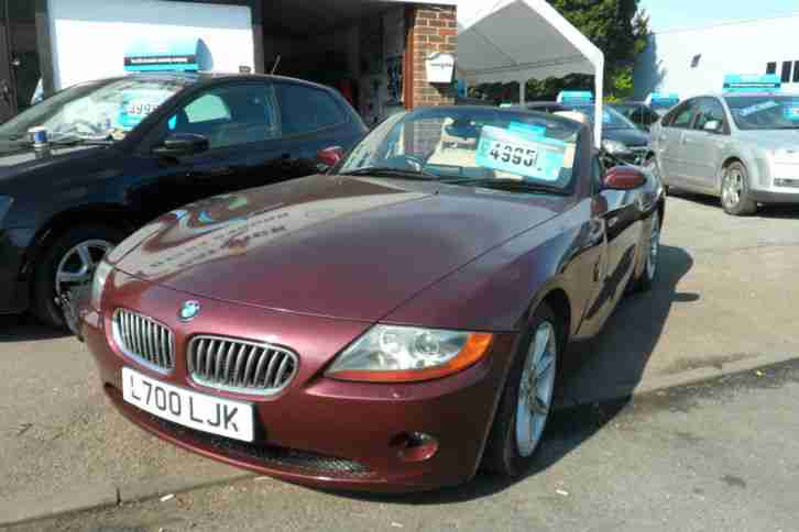 BMW Z4 3.0i. BMW car from United Kingdom