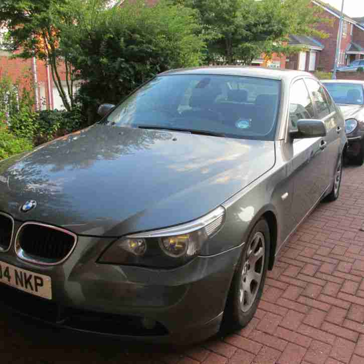 BMW 525D. BMW car from United Kingdom