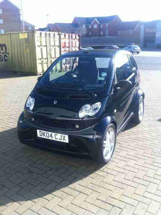 smart brabus 2004 city passion 61 auto black car for sale. Black Bedroom Furniture Sets. Home Design Ideas