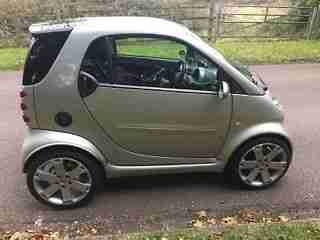 "BRABUS SMART CAR 2003. 3 TO 5 STUD 17"" WHEEL CONVERSION."